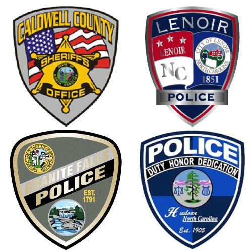Caldwell County Law Enforcement Patches