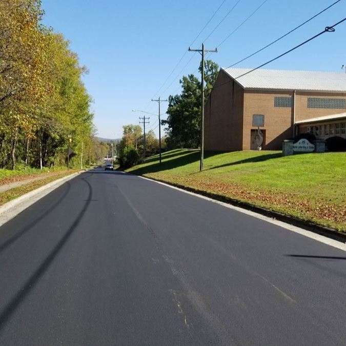 Greenhaven Drive from Blowing Rock Boulevard to Arlington Circle was repaved Oct. 19, 2020.