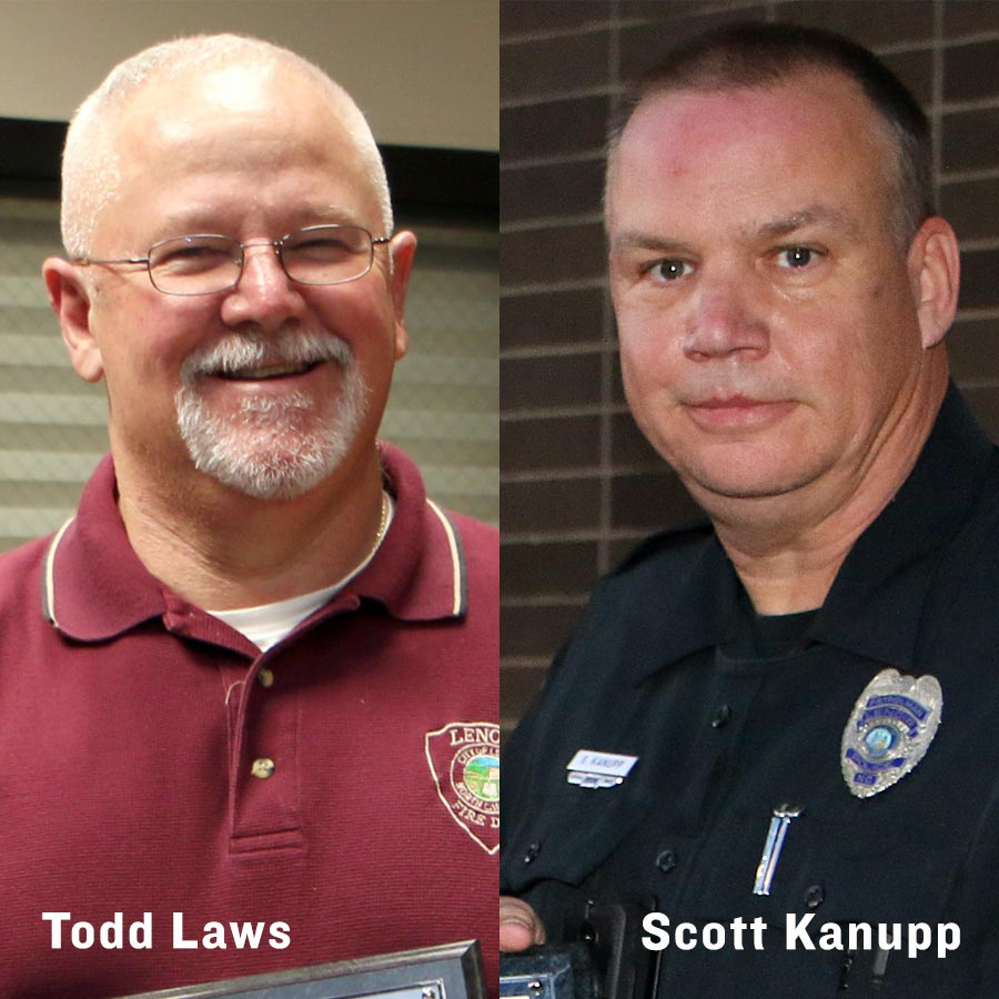 Todd Laws and Scott Kanupp