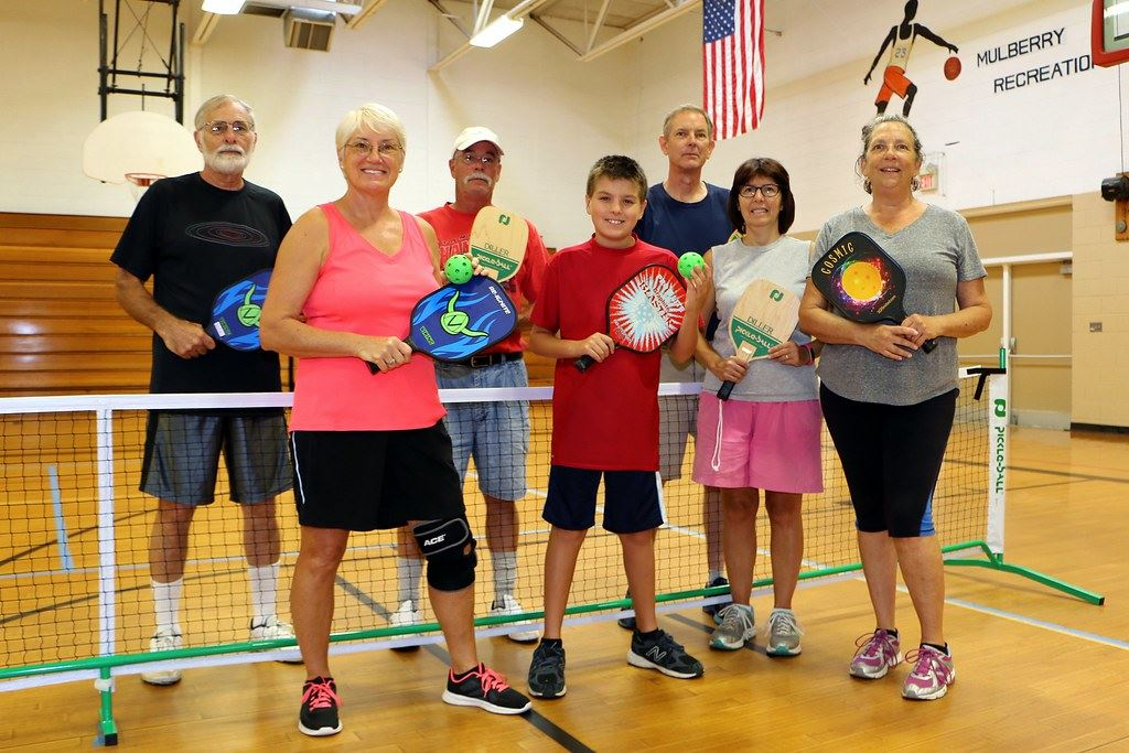Group of Pickleball Players