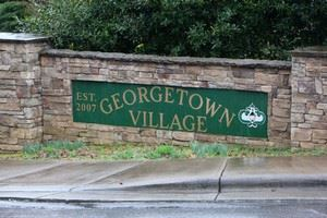 Georgetown Village neighborhood sign