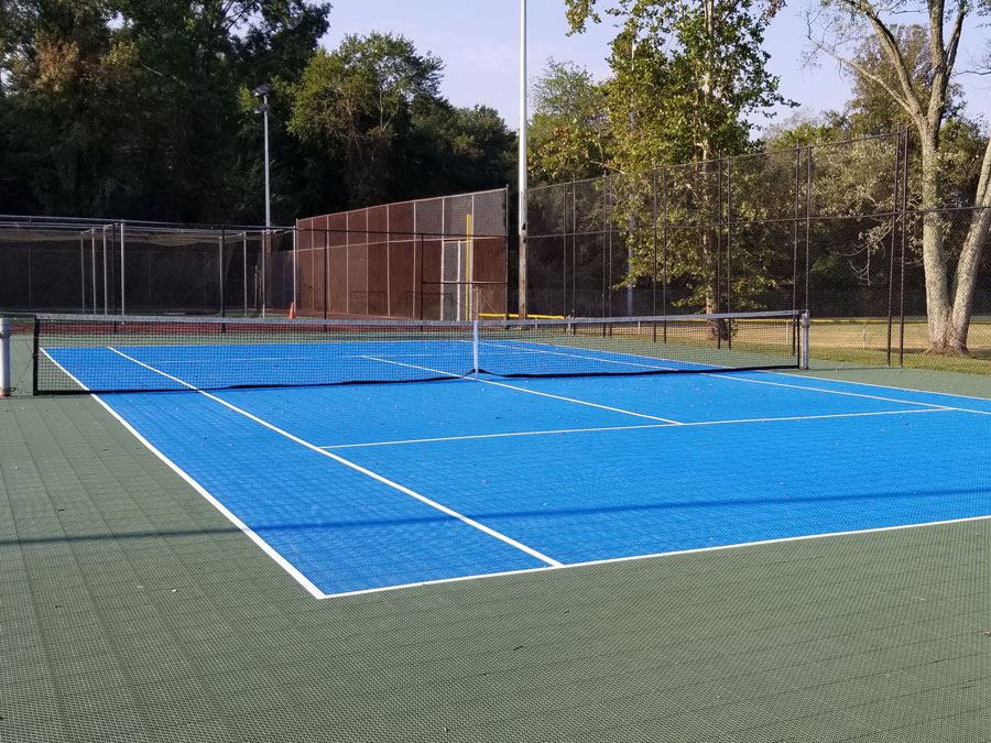 Tennis Court at Mulberry Recreation Center in Lenoir