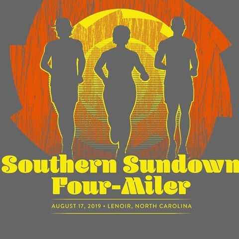 Southern Sundown 4-Miler, August 17, 2019, Lenoir, NC