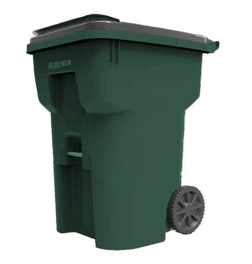 Green Yard Waste Cart