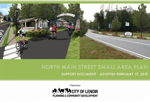North Main Street Small Area Plan (PDF) Opens in new window